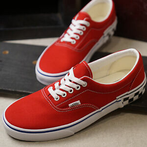 red vans size 12