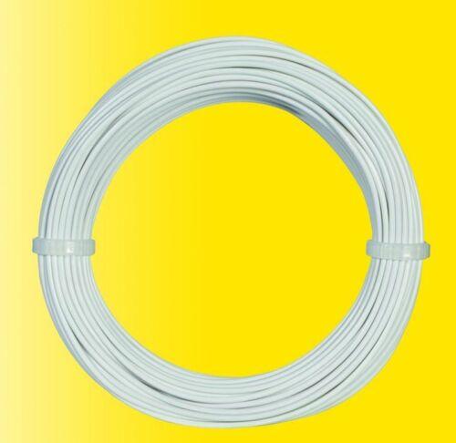 10 m//Viessmann 6862 0.17 EUR//M Kabelring 0,14 mmâ² Blanc