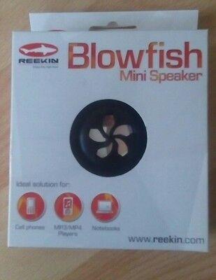 Audio-docks & Mini-lautsprecher GemäßIgt Reekin Blowfish Mini Speaker Ipod Lautsprecher Die Nieren NäHren Und Rheuma Lindern