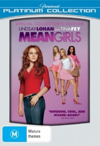 1 of 1 - Mean Girls (2004) Lindsay Lohan - NEW DVD - Region 4