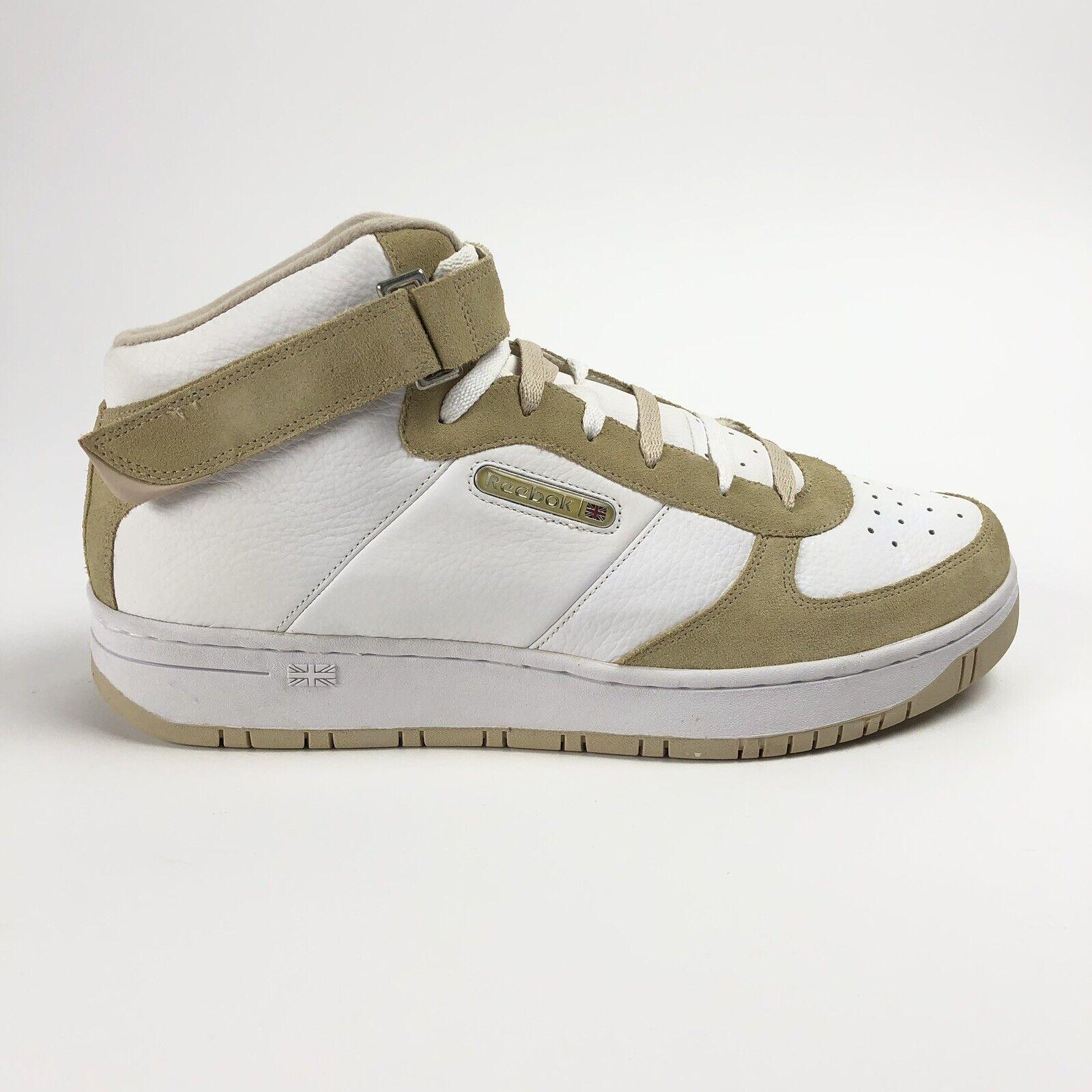 Reebok Classic Amaze Mediados Correa Para hombre Zapatos Tenis Retro 13 blancoo gris Topo 4-93825