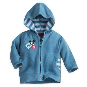 d9411e5e3 Disney Store Mickey Mouse Fleece Hoodie Coat for Baby Boys Size 3-6 ...