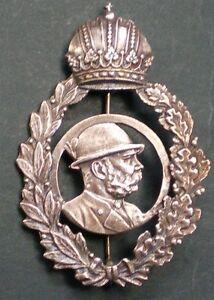 Stil; In Hutanstecker Kaiser Franz Joseph Jagdabzeichen Je122 Modischer