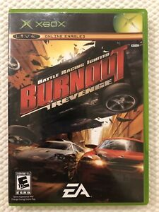 Burnout-Revenge-Microsoft-Xbox-Complete-w-Case-amp-Manual