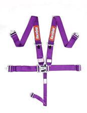 Racequip 5 Point Purple Seat Belts 711051 Racing Harness IMCA razor rzr USMTS
