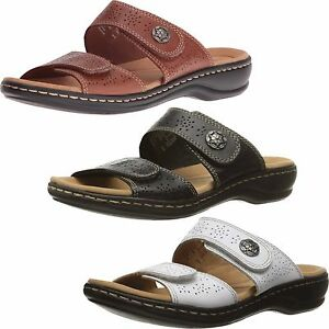 65ee3ff49d2 Image is loading WOMEN-039-S-CLARKS-LEISA-LACOLE-SLIDE-SANDALS