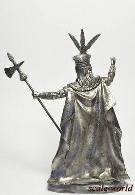 1500-1533 54 mm Atahualpa ruler of the Incas Tin soldier