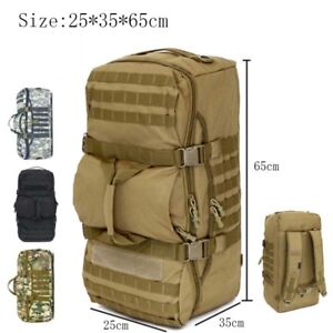 2564f9afb0 Image is loading 75L-Large-Travel-Hiking-Camping-Military-Tactical-Backpack-