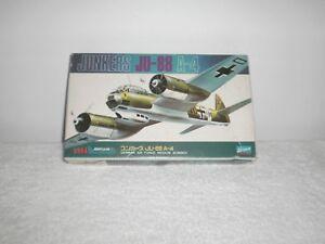 1975-Crown-WWII-German-Junkers-JU-88-Medium-Bomber-Model-Airplane-Kit-MB-2
