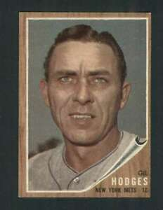 1962-Topps-85-Gil-Hodges-EXMT-Mets-123261
