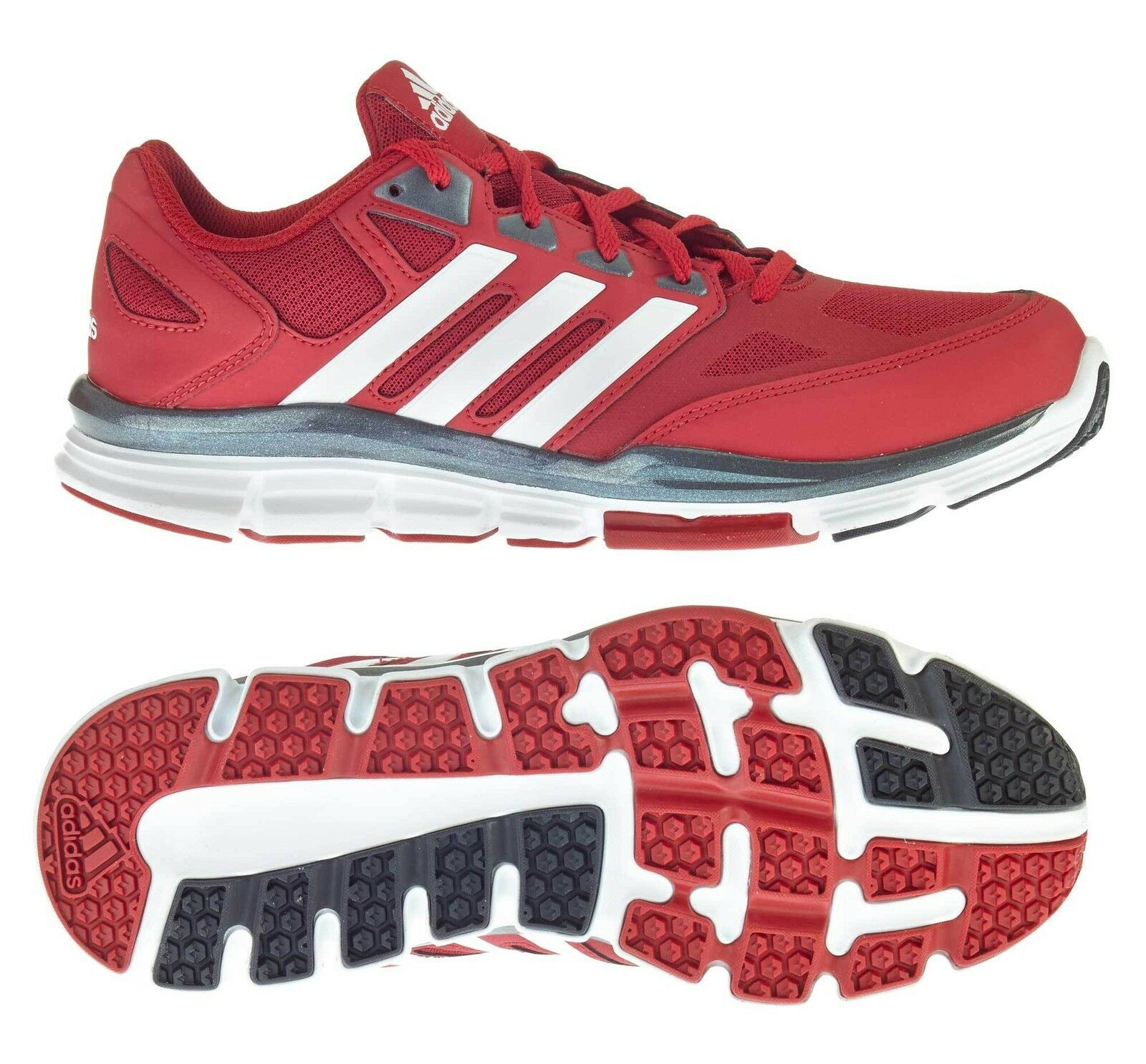 Adidas Training zapato Speed entrenador rojo blancoo (d74010) fitness -  ocio zapatos  punto de venta en línea