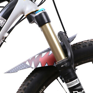 Mountain Road Bike Bicycle Cycling Tire Front Rear Mudguard Fender Set Mud Guard