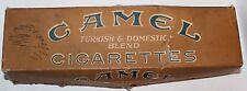 Empty Vintage Camel Turkish & Domestic Blend Cigarettes Carton Box