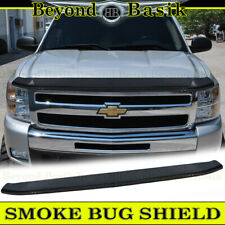 2007-2013 GMC Sierra Molded Front Bug Guard Hood Protector Smoke Color new OEM