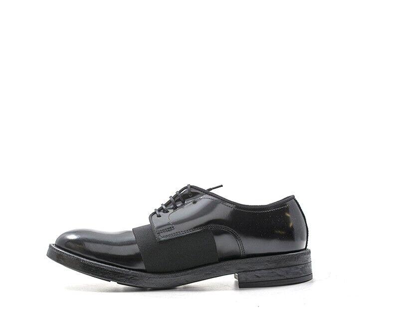 Schuhe 18605REX-NE EVEET Mann NERO Naturleder 18605REX-NE Schuhe 6c5b01