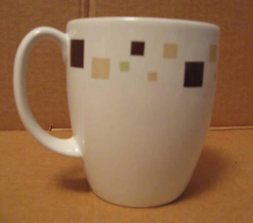 chk qty NEW Corelle GEOMETRIC Stoneware Mug