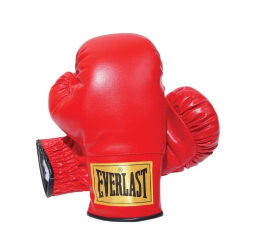 Everlast 14oz Slip-On Boxing Gloves Red 14 oz.