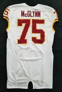 #75 Mike McGlynn of Washington Redskins NFL Locker Room Game Issued Jersey