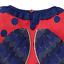 miniatuur 11 - Mini Boden Girls Bee/Ladybird Long Sleeves Top T-shirt Frill 3D Applique Stripe