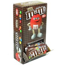 M-M's Milk Chocolate Candy, Single 1.69 oz, 36 ea