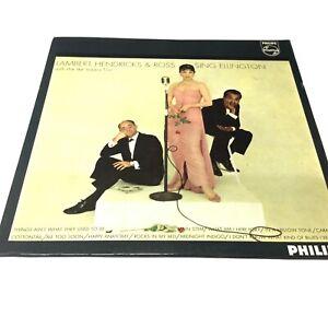 Lambert-Hendricks-and-Ross-Sing-Ellington-1960-Phillips-VInyl-LP-VG-VG-Nice