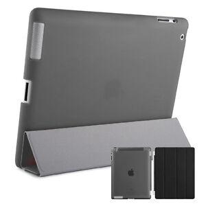 Smart-Schutz-Huelle-iPad-2-3-4-Case-Cover-Aufstellbar-Staender-Schale-Etui-Schwarz