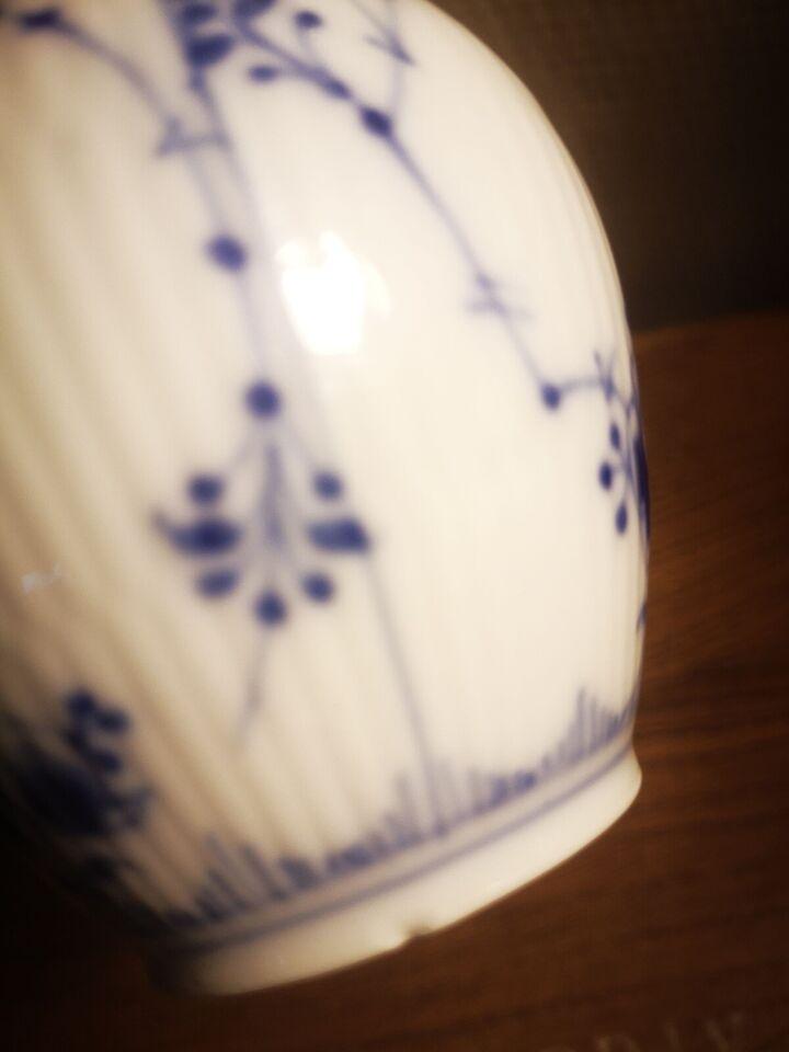 Porcelæn, Muselmalet flødekande, Royal Copenhagen