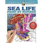 Creative Haven Sea Life Paint by Number by George Toufexis (Paperback, 2016)