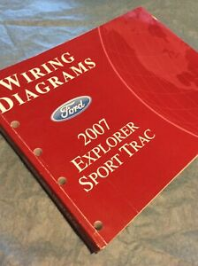 2007 Ford Sport Trac Electrical Wiring Diagram Service ...