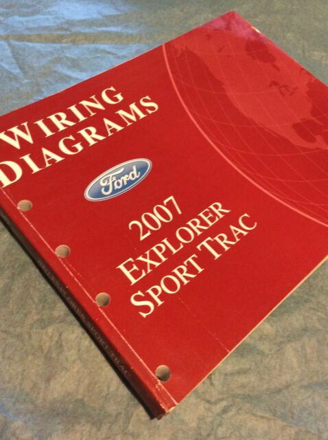2007 Ford Sport Trac Electrical Wiring Diagram Service