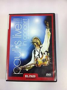 PAUL McCARTNEY - PAUL IS LIVE!!! IN CONCERT ON THE NEW WORLD TOUR DVD