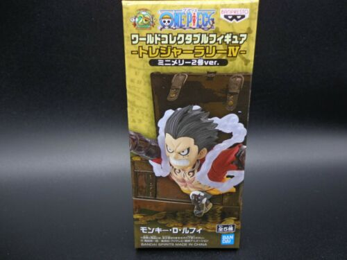 ONE PIECE WCF World Collectable Figure TREASURE RALLY Ⅳ Luffy Gear 4 JAPAN