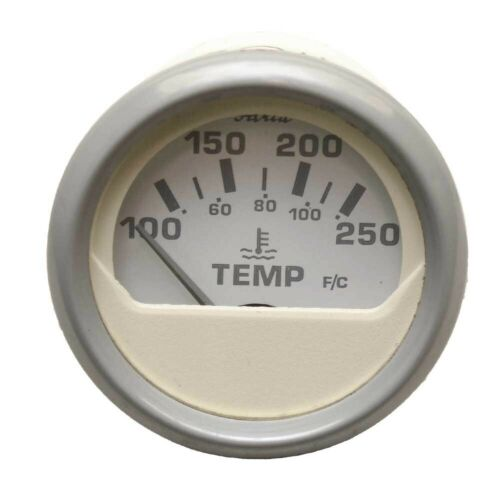 Faria Boat Temperature Gauge GP9102ARinker Nantucket 2 Inch