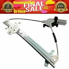 Power Window Regulator w//Motor Front Left LH Driver Side for 03-07 Honda Accord
