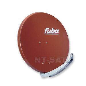 Sat-Schuessel-FUBA-DAA-650-Alu-SAT-Antenne-Spiegel-65-cm-Zigelrot-Rot