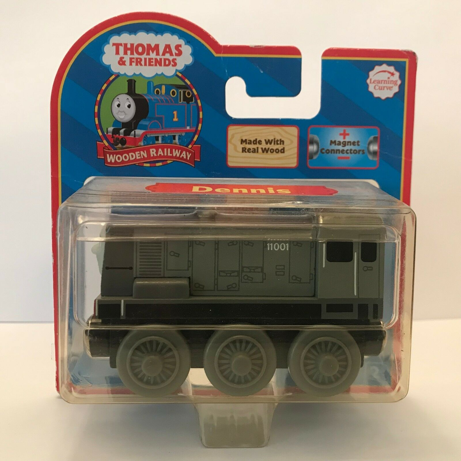 ⭐️WOODEN THOMAS The Tank Engine DENNIS 2006 ROT Label Learning Curve LC99064 ⭐️