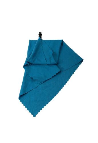 20 G 40 x 40 CM incl. bolsa de red azul Basicnature /'mini toalla /'