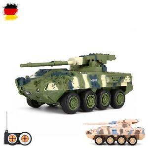 RC ferngesteuerter US M1128 Stryker MGS,Panzer-Modell,Deutsches Militär-Fahrzeug