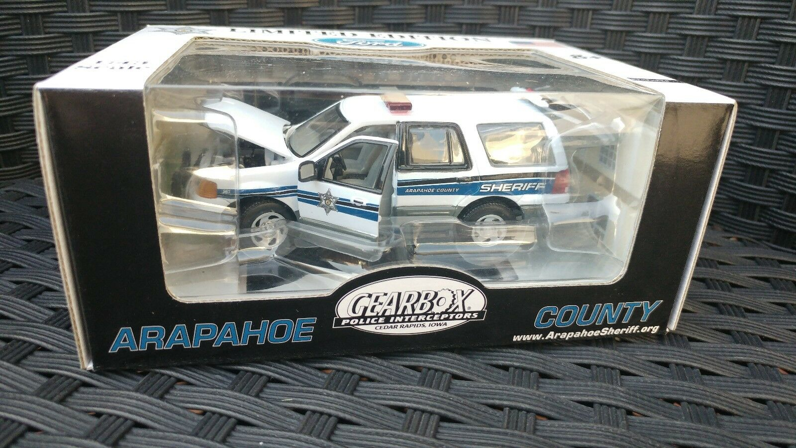 ARAPAHOE COUNTY, CO SHERIFF-2005 FORD EXPEDITION GEARBOX 1 43 SAMPLE CAR LTD.ED