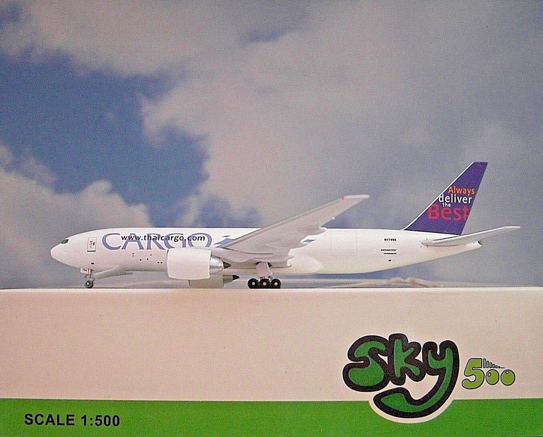 Sky500 Sky500 Sky500 1 500 Boeing 777 F Thai Cargo 774sa 0703ta modellairport 500 444214