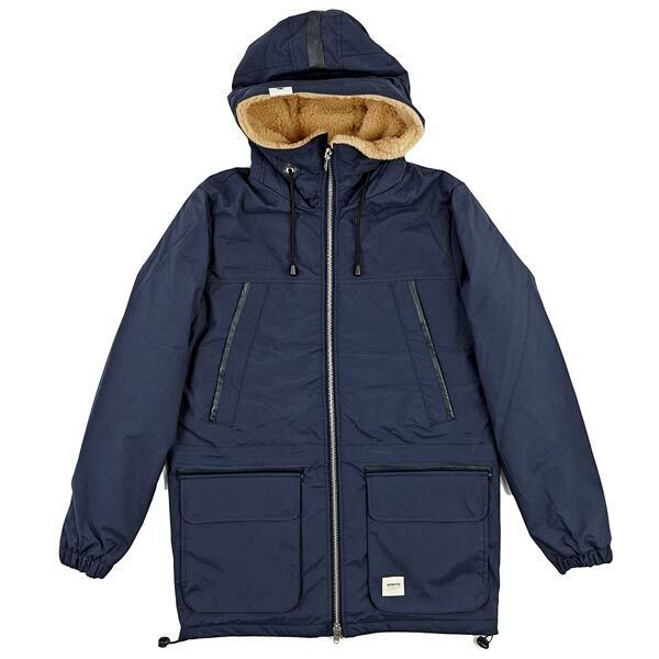 Wemoto Irving 2 Jacket Long Sleeve Winter Coat Navy Blau