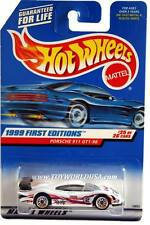 1999 Hot Wheels #676 First Editions #25 Porsche 911 GT1-98
