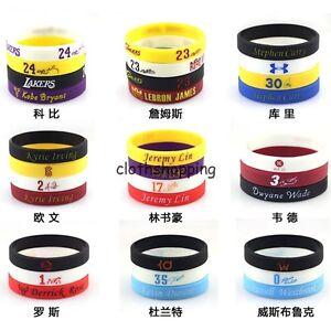 Popular-NBA-ALLStar-Wristband-Silicone-Wrist-Band-Rubber-Bracelet-Fun-Run