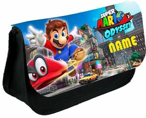 Details about SUPER MARIO ODYSSEY #2 PERSONALISED PENCIL CASE