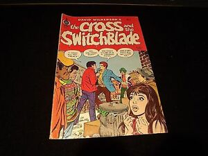 David wilkerson the cross and the switchblade comic