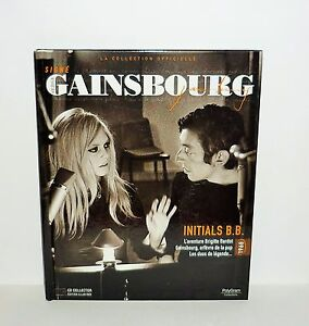 LIVRE-SIGNE-GAINSBOURG-AVEC-CD-COLLECTOR-ILLUSTREE-INITIALS-B-B
