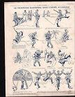WWI Caricature Deutsches Heer Pickelhaube/ Map Austria Hungary 1915 ILLUSTRATION