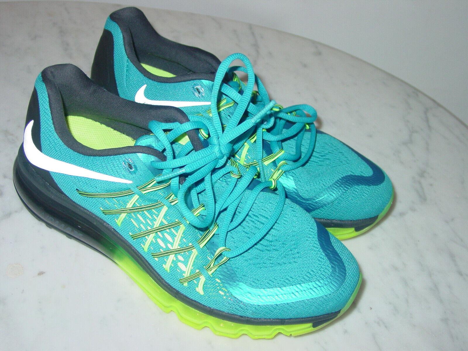 2015 Nike Air Max 2015 Lacquer Blu  Volt   Anthracite Running scarpe Dimensione 7.5  esclusivo