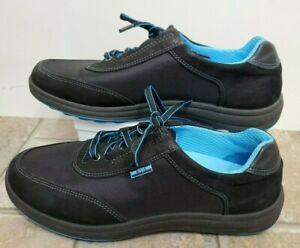 SAS-Women-Shoes-Sporty-Lace-Up-Black-Blue-7-5-W-Worn-Once