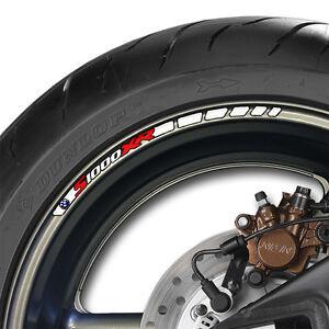 12 x BMW S1000XR Wheel Rim Decals Stickers Stripes s 1000 xr